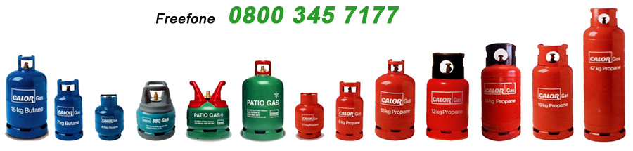 BHS butane, propane and Calor gas